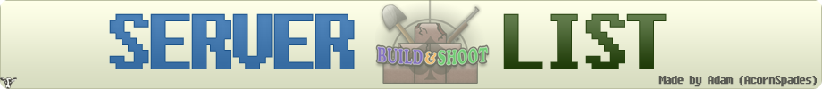 BuildAndShoot Server List